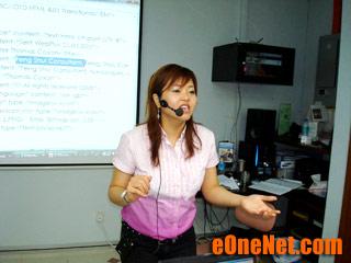 Internet marketing coach Fione Tan